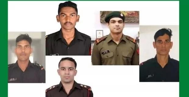 Arvind Singh, Avinash Sable, Amit Panghal, Neeraj Chopra and Arjun Jat