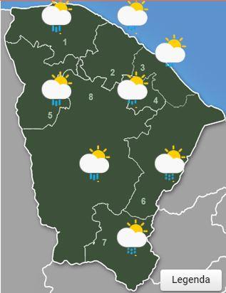 Mês de abril termina com chuva no Cariri