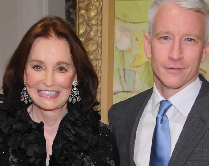 Gloria Vanderbilt, mother of CNN's Anderson Cooper, dies at 95