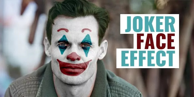 Joker Effect Photoshop Action 1 Click only