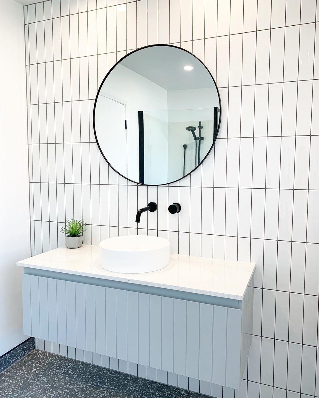 Marzua: Tendencia en el baño; los azulejos también se ...
