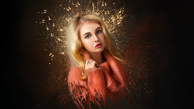 how to create smudge painting dispersion effect in Photoshop, photoshop smudge painting effect, how to create smudge painting effect, smudge painting effect in phtoshop,illphocorphics, illphocorphics tutorial,
