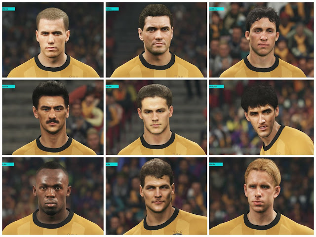 PES 2018 Correct Legend Europe and World