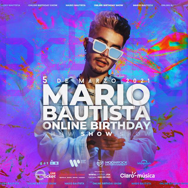 Mario Bautista llega al streaming para festejar su cumpleaños junto a sus fans