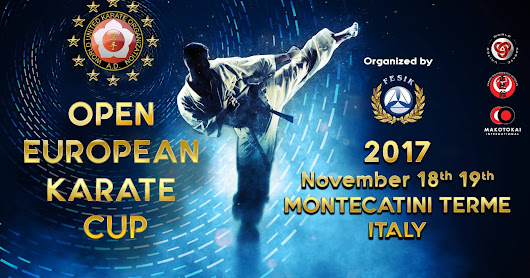 Open European Karate Cup in Montecatini Terme, Italy