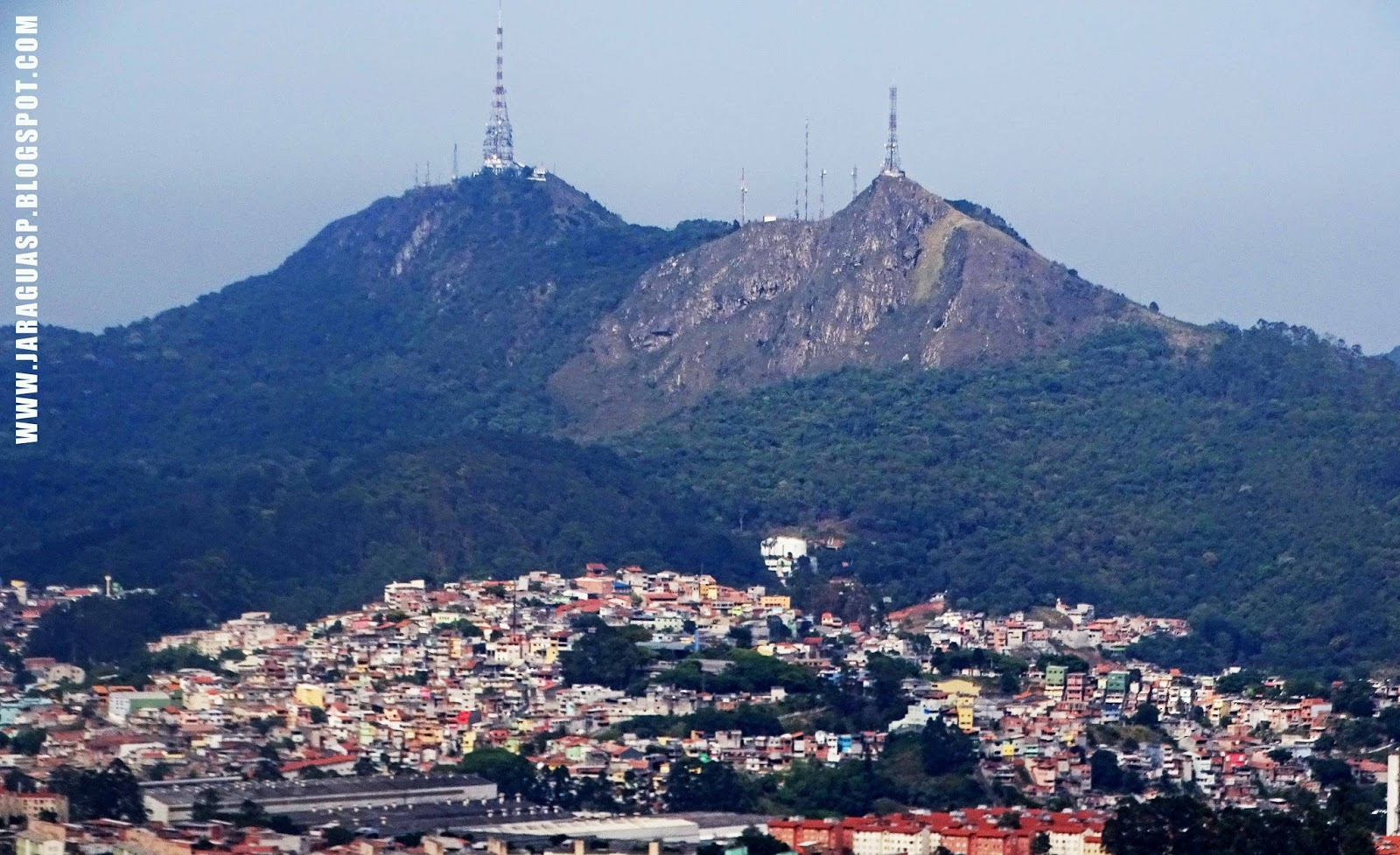 """O Jaraguá ocupa a 77ª posição entre os 96 distritos de São Paulo no quesito """"Índice de Desenvolvimento Humano (IDH)"""". Foto: Marinaldo Gomes Pedrosa"""