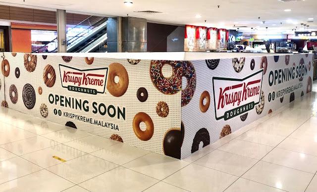 Krispy Kreme Penang Gurney Plaza Mall Penang Food Blog Blogger www.barryboi.com