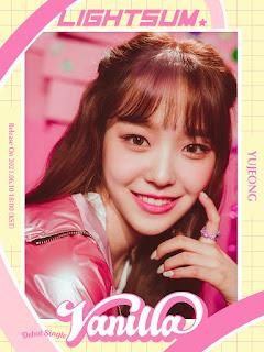 Yujeong,  integrante de lightsum de cube entertainment