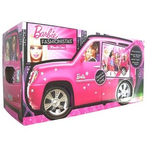 barbie e cia essa e a limousine das barbies fashionistas. Black Bedroom Furniture Sets. Home Design Ideas