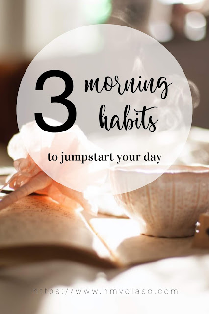 One of the common traits among successful people is having morning habits. Morning habits help set the tone of your day.