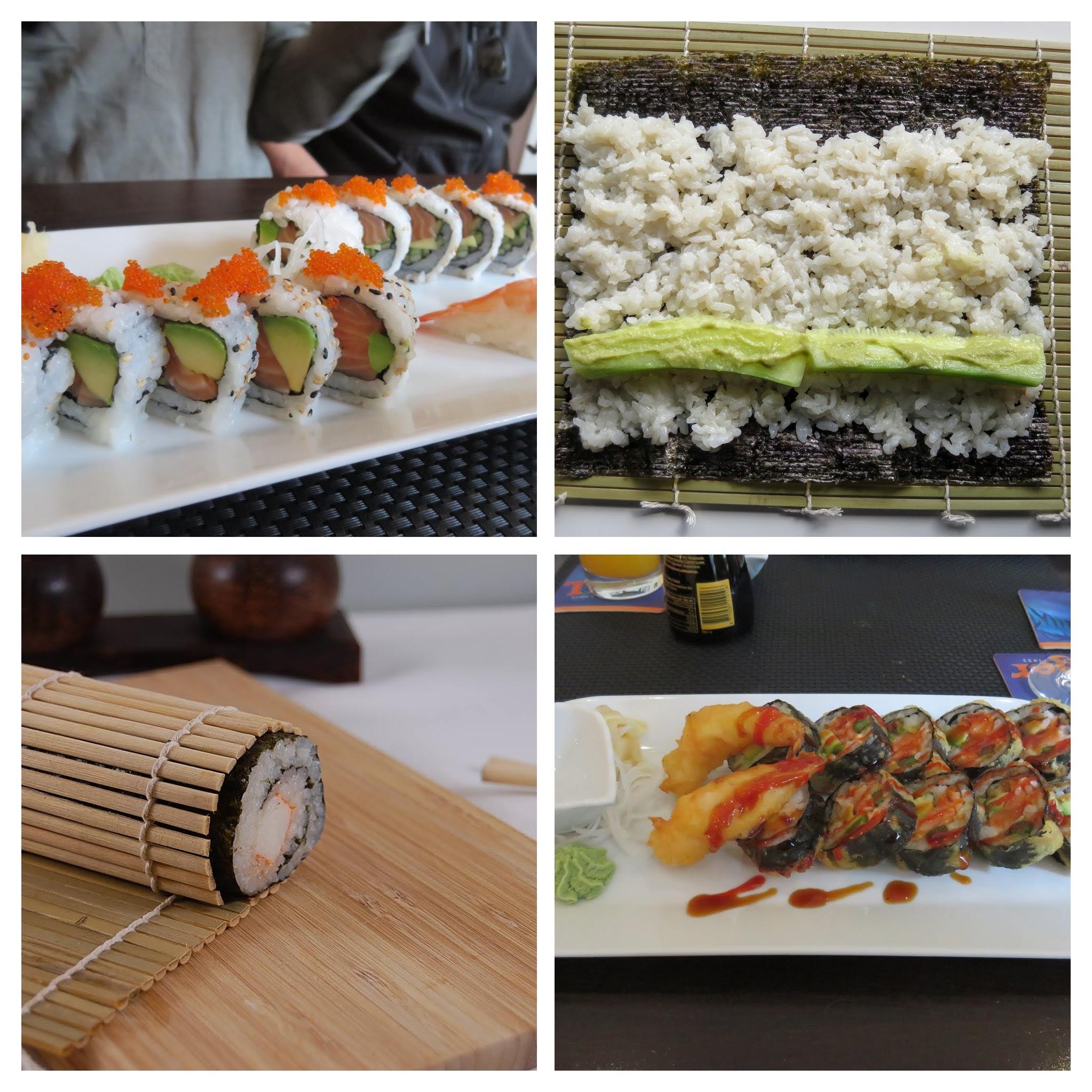 cara bikin sushi sendiri