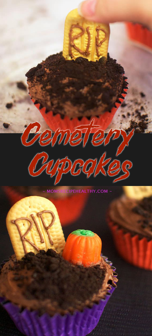 Cemetery Cupcakes {30 DAYS OF HALLOWEEN – DAY 1}