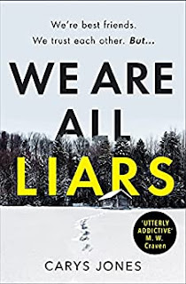 Front cover of the novel We Are All Liars by Carys Jones