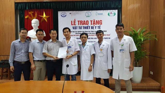 Hamesco là đối tác của dự án Renomab trao tặng thiết bị y tế cho 11 bệnh viện ở Việt Nam