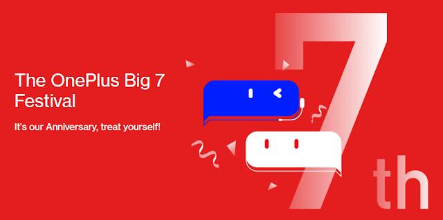 OnePlus 7 Year Anniversary