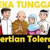 Pengertian Toleransi, Bentuk, Manfaat dan Contohnya