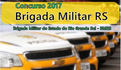concurso BMRS - Brigada Militar RS