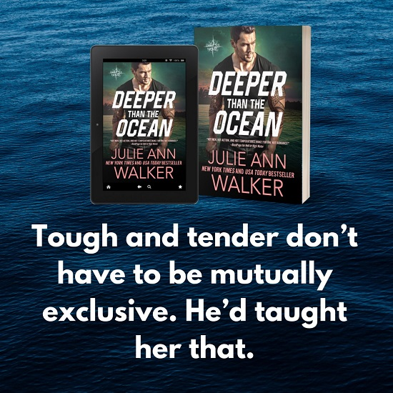 Tough and tender don't have to be mutually exclusive. He'd taught her that.