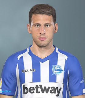 PES 2019 Faces Jonathan Calleri By Lucas Facemaker