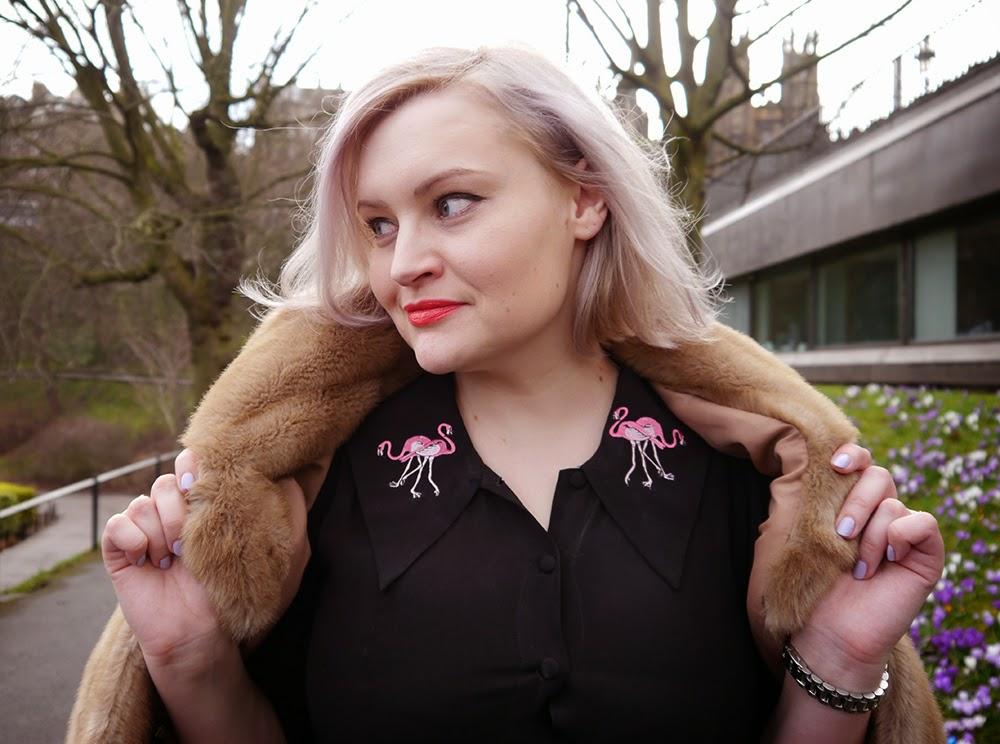 day one, Edinburgh Fashion Week, 2015, model, catwalk, faux fur, This Is Edinburgh, Satisfashion, style, outfit, #EdFashionWeek