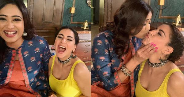 shweta tiwari and shraddha arya indian tv actress