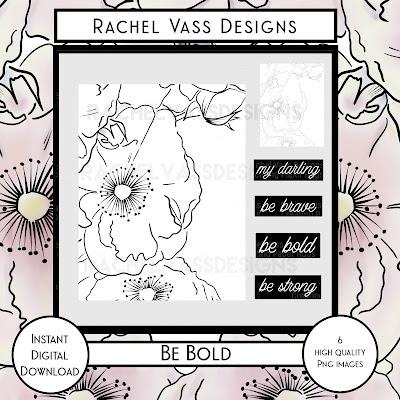 Rachel Vass Designs - Be Bold
