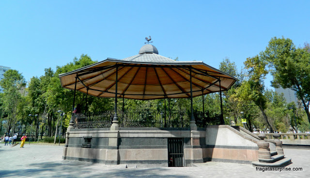 Coreto na Alameda Central - Cidade do México