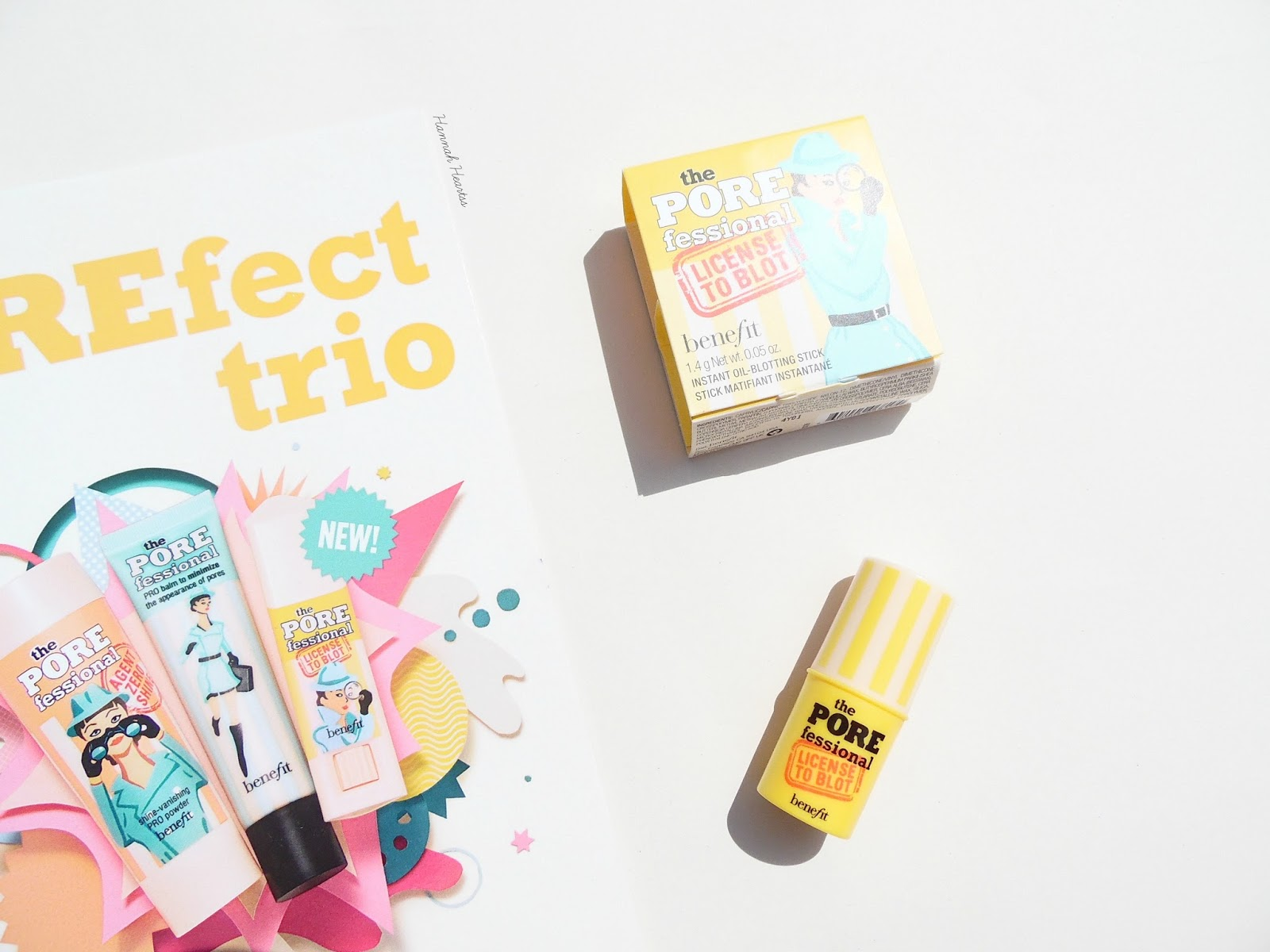 Benefit POREfessional: License to Blot