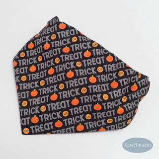 Trick or Treat Halloween Dog Bandana