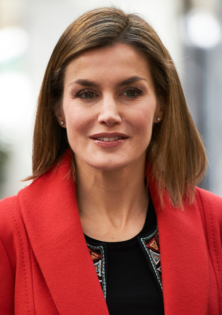 Queen Letizia of Spain attends the commemoration of the 50th anniversary of the College of 'Nino Jesus' University Children's Hospital