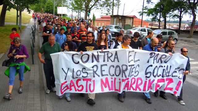 Marcha en el año 2012