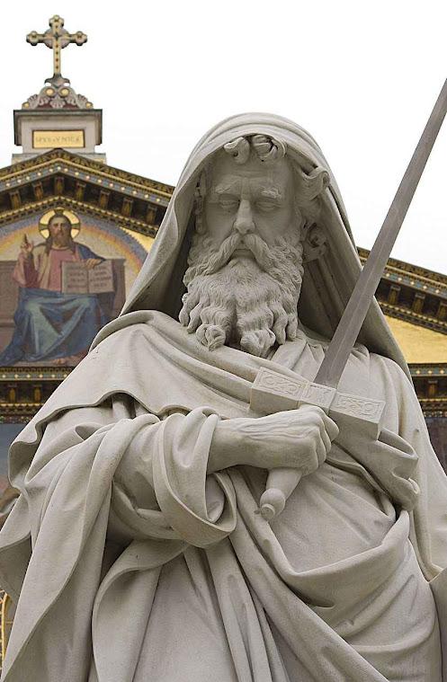 São Paulo Apóstolo, Basílica de San Paolo fuori le mura, Roma
