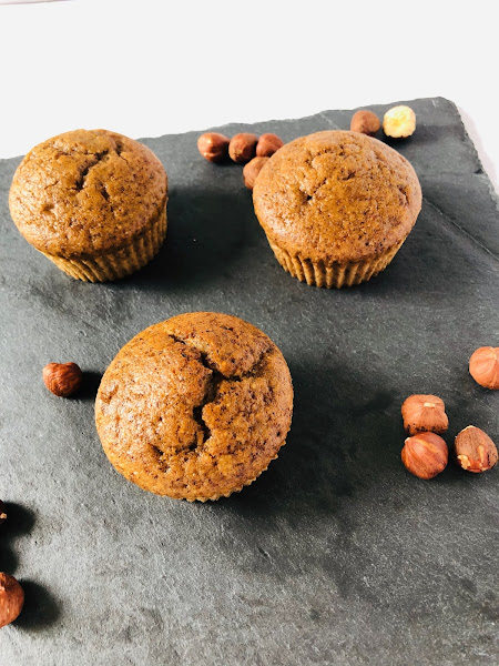 Muffins saveur noisettes