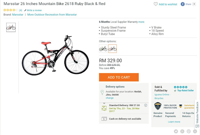Mountain Bike Lazada