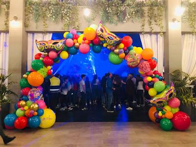 Balloon Arch by Keren Fridman Braha
