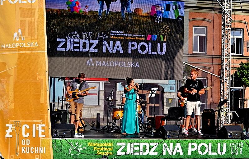 koncert, malopolska, zjedz na polu, zycie od kuchni, levi, koncert, zycie od kuchni