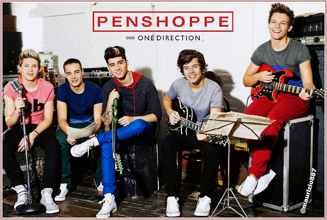 One Direction for Penshoppe