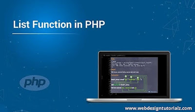 PHP list() Function