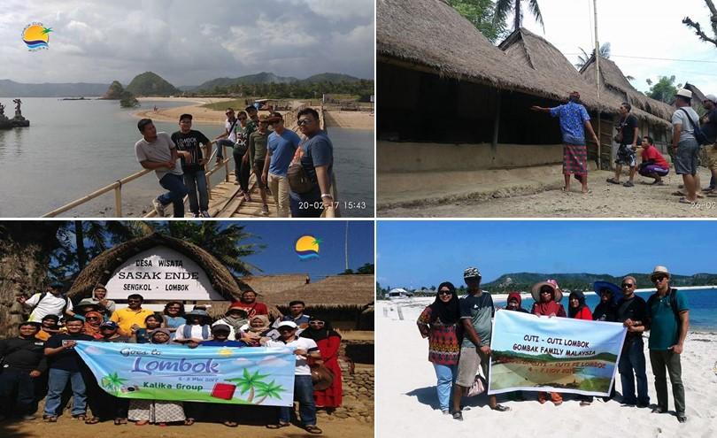 Destinasi Hari Pertama Pantai Kuta, Tanjung Ann dan Rumah Adat Sasak