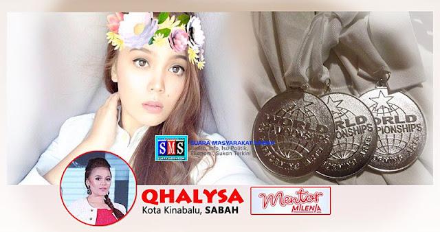 Biodata Qalisha Mentor Milenia 2017