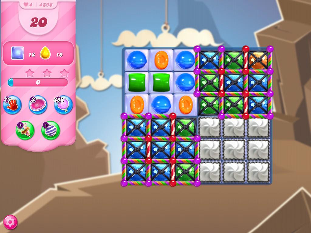 Candy Crush Saga level 4396