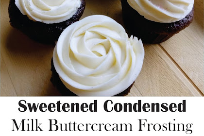 Sweetened Condensed Milk Buttercream Frosting