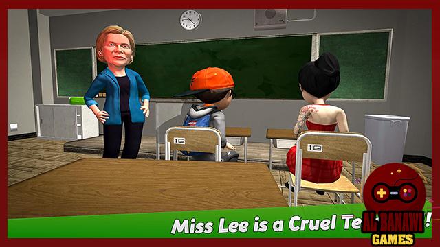 تحميل لعبة المدرسة الشريرة Scary Teacher 3D للاندرويد من الميديا فاير