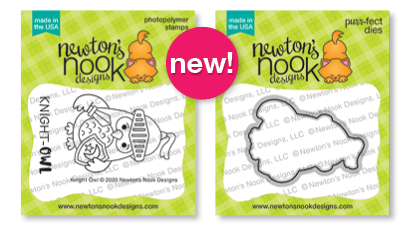Knight Owl Stamp Set by Newton's Nook Designs #newtonsnook