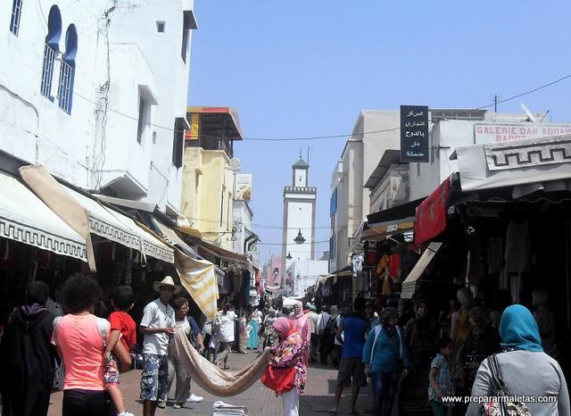 regatear en las medinas de Marruecos