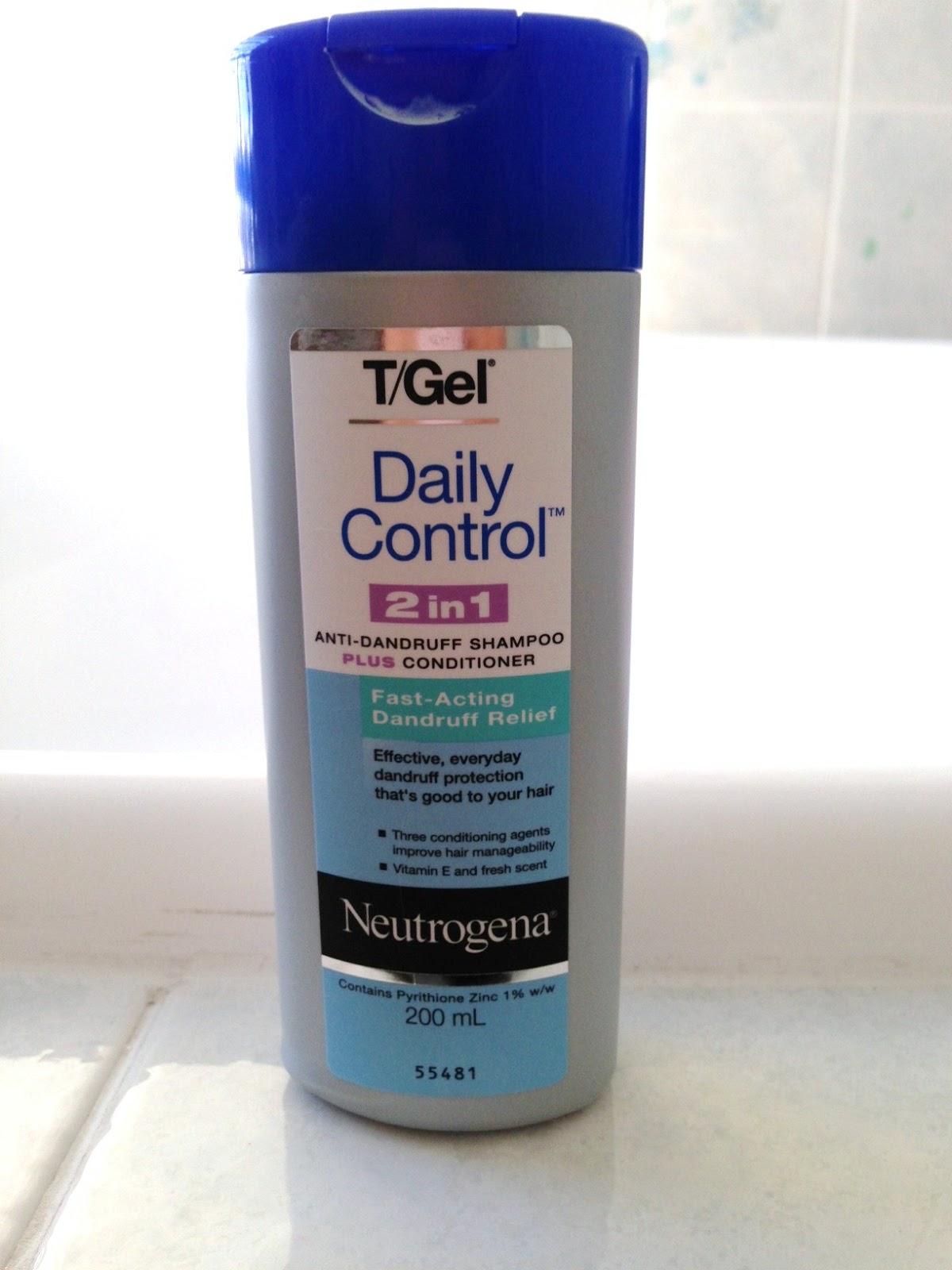 Neutrogena T/Gel Daily Control 2 in 1 Anti-Dandruff Shampoo