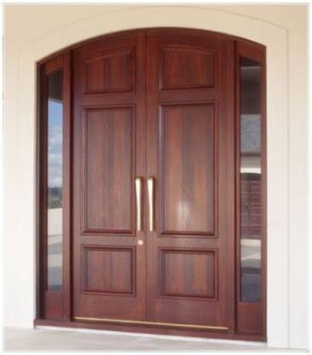 model pintu kupu tarung lengkung