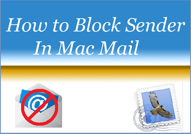 Block a Sender In Mac OS X Mail