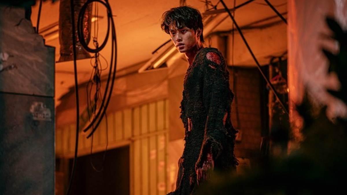 Hyun Soo setelah jadi monster