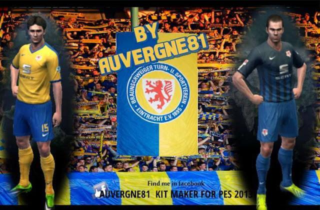 PES 2013 Eintracht Braunschweig Kit Season 2016-2017